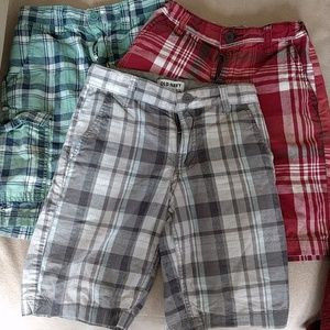 4 pairs of Boys Old Navy Shorts size 8